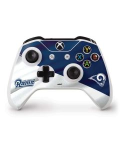 Los Angeles Rams Flag Xbox One S Controller Skin