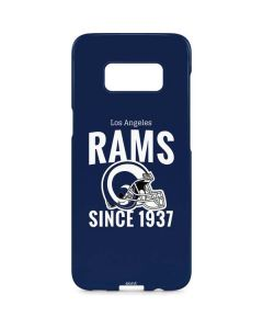 Los Angeles Rams Helmet Galaxy S8 Plus Lite Case