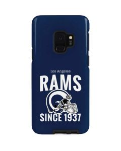 Los Angeles Rams Helmet Galaxy S9 Pro Case