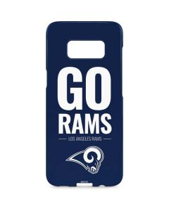 Los Angeles Rams Team Motto Galaxy S8 Plus Lite Case