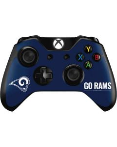 Los Angeles Rams Team Motto Xbox One Controller Skin