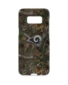 Los Angeles Rams Realtree Xtra Green Camo Galaxy S8 Plus Lite Case