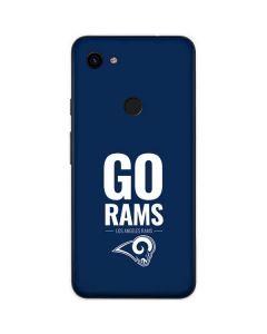 Los Angeles Rams Team Motto Google Pixel 3a Skin