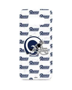 Los Angeles Rams White Logo Blast Galaxy S8 Plus Lite Case