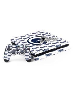 Los Angeles Rams White Logo Blast PS4 Slim Bundle Skin