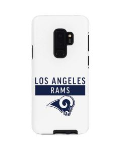 Los Angeles Rams White Performance Series Galaxy S9 Plus Pro Case
