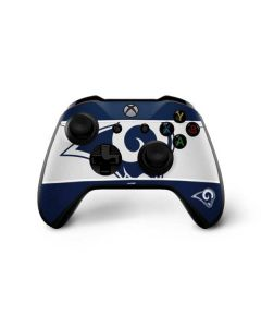 Los Angeles Rams Zone Block Xbox One X Controller Skin