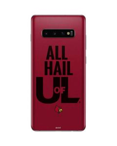 Louisville All Hail U of L Galaxy S10 Plus Skin