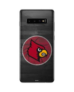 Louisville Cardinals Basketball Galaxy S10 Plus Skin
