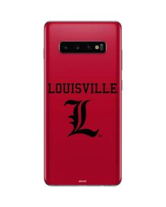 Louisville Cardinals Galaxy S10 Plus Skin