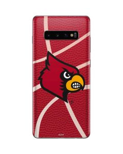 Louisville Red Basketball Galaxy S10 Plus Skin