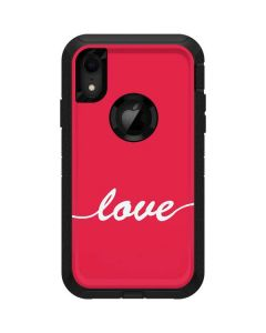 Love Banner Otterbox Defender iPhone Skin