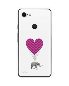 Love Elephant Google Pixel 3 XL Skin