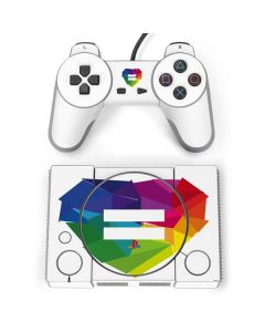 Love Is Equal PlayStation Classic Bundle Skin