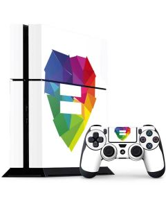 Love Is Equal PS4 Console and Controller Bundle Skin