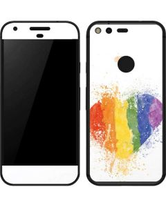 Love Is Love Heart Google Pixel Skin