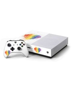 Love Is Love Heart Xbox One S Console and Controller Bundle Skin