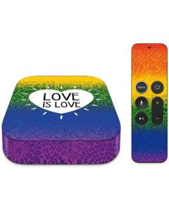 Love Is Love Rainbow Apple TV Skin