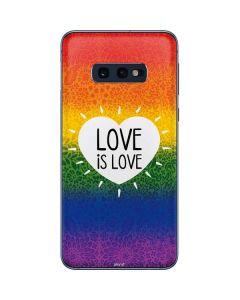 Love Is Love Rainbow Galaxy S10e Skin