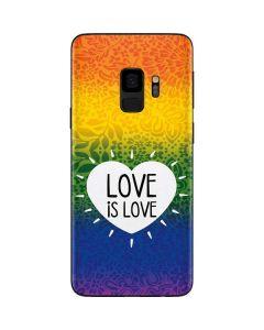 Love Is Love Rainbow Galaxy S9 Skin