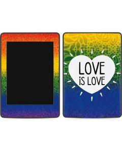 Love Is Love Rainbow Amazon Kindle Skin