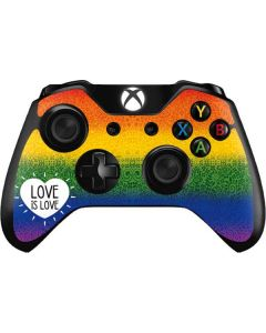 Love Is Love Rainbow Xbox One Controller Skin