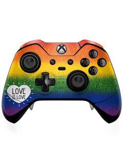 Love Is Love Rainbow Xbox One Elite Controller Skin