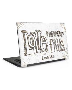 Love Never Fails Dell Latitude Skin