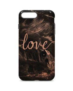 Love Rose Gold Black iPhone 8 Plus Pro Case