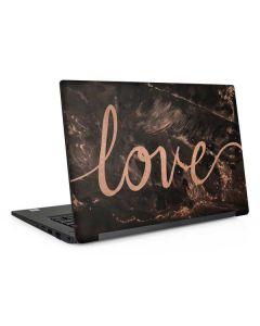 Love Rose Gold Black Dell Latitude Skin