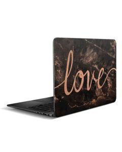 Love Rose Gold Black Zenbook UX305FA 13.3in Skin