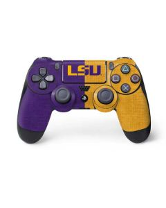 LSU Bold Split PS4 Controller Skin