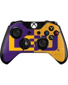 LSU Bold Split Xbox One Controller Skin