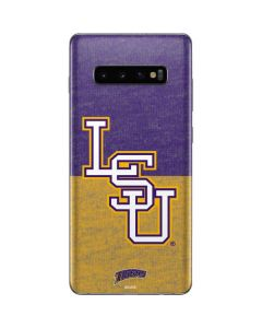 LSU Split Galaxy S10 Plus Skin