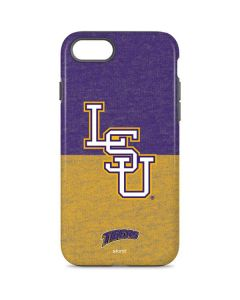 LSU Split iPhone 8 Pro Case