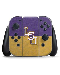 LSU Split Nintendo Switch Joy Con Controller Skin