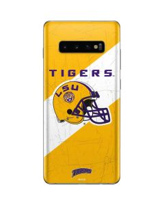 LSU Tigers Helmet Galaxy S10 Plus Skin