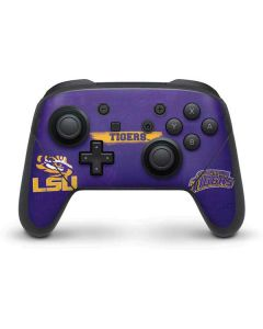 LSU Tigers Nintendo Switch Pro Controller Skin