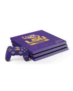 LSU Tigers PS4 Pro Bundle Skin