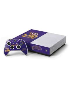 LSU Tigers Xbox One S Console and Controller Bundle Skin