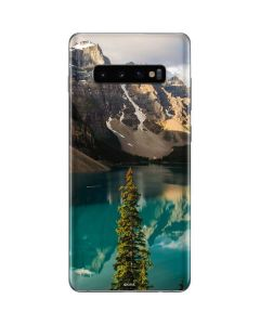Majestic Mountains and Evergreen Forests Galaxy S10 Plus Skin