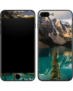Majestic Mountains and Evergreen Forests iPhone 8 Plus Skin