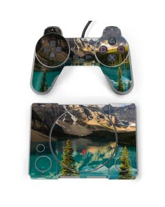 Majestic Mountains and Evergreen Forests PlayStation Classic Bundle Skin