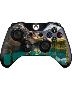 Majestic Mountains and Evergreen Forests Xbox One Controller Skin