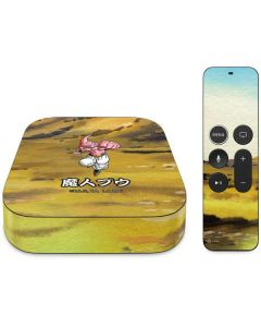 Majin Buu Power Punch Apple TV Skin
