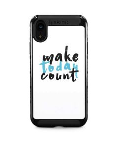 Make Today Count iPhone XR Cargo Case