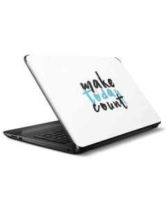 Make Today Count HP Notebook Skin