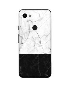 Marble Split Google Pixel 3a Skin