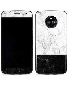 Marble Split Moto X4 Skin
