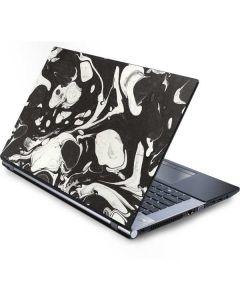 Marbleized Black Generic Laptop Skin